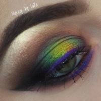 Eyeliner based makeup🍭